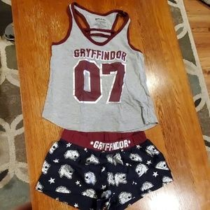Gryffindor Harry Potter Pajama set